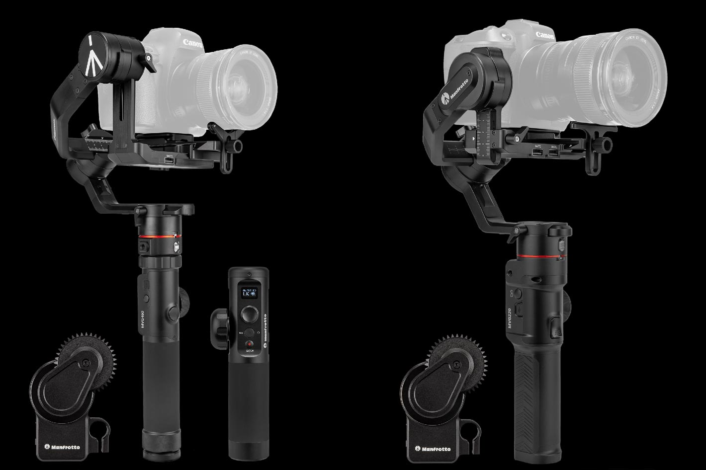 Manfrotto gimbals expanded with the GimBoom