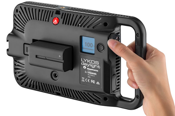 Remote control your Manfrotto Lykos LED lights 3