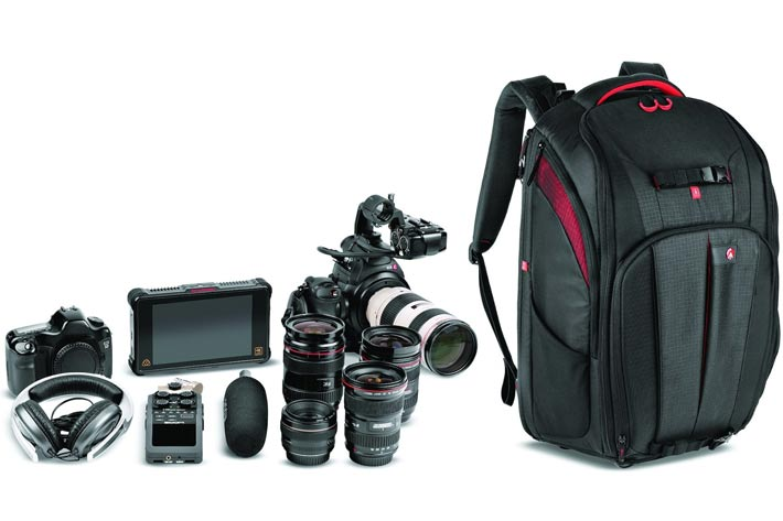 Manfrotto's Cinematic backpacks for run and gun
