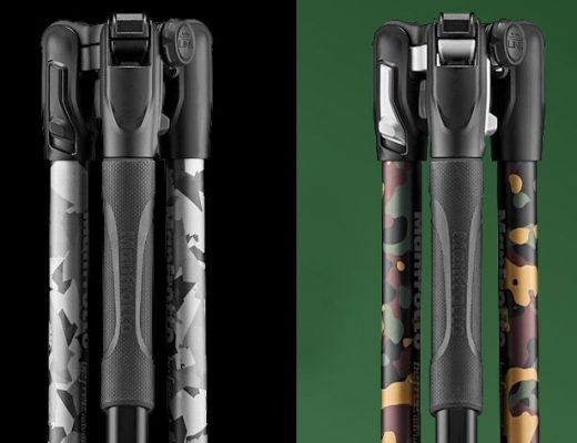 Manfrotto Befree Camo: a limited series for outdoor use