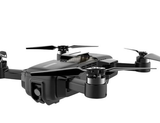 Mark: the world's first 4K VIO positioning drone