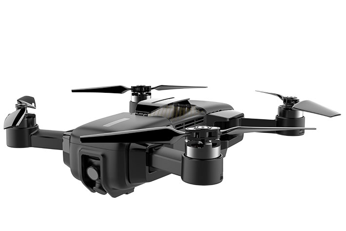 Mark: the world's first 4K drone positioned by Visual