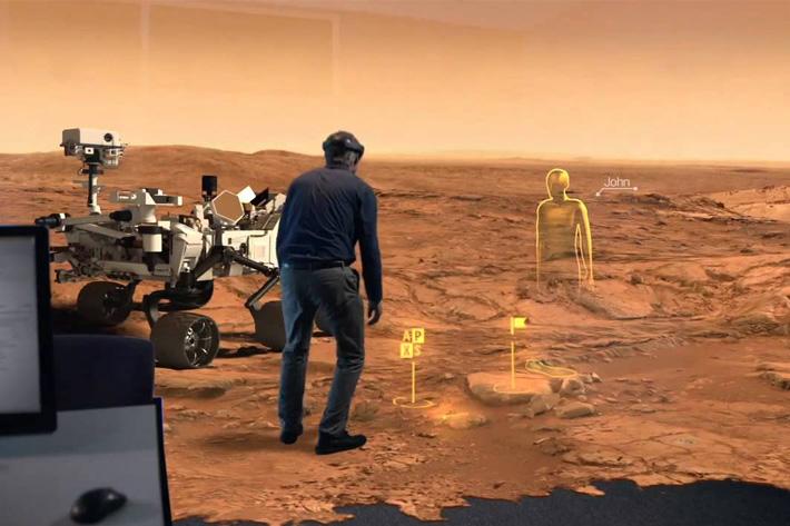 NASA: Virtual Reality will take us all to Mars