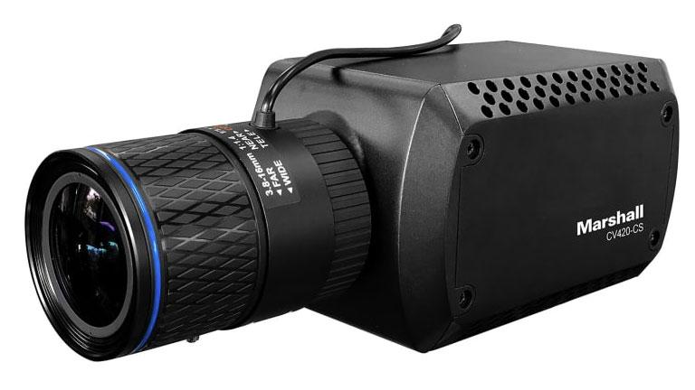 Marshall CV420-CS: new true 4K compact camera debuts at IBC 2018