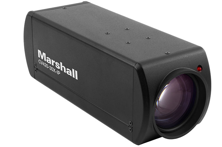 Marshall Electronics: four new IP cameras for broadcast production