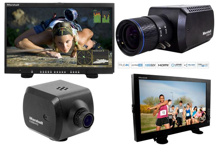 Marshall Electronics: 3 new cameras and 2 monitors at NAB 2019