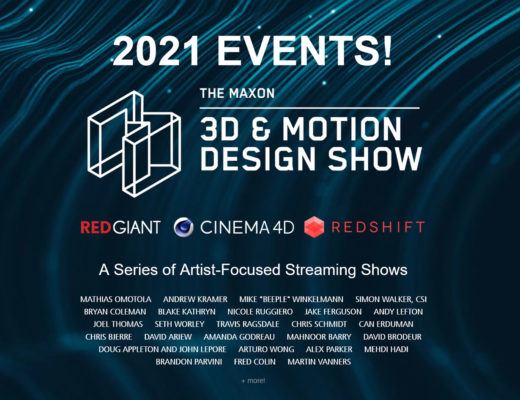 Maxon: May 3D & Motion Design Show coming soon
