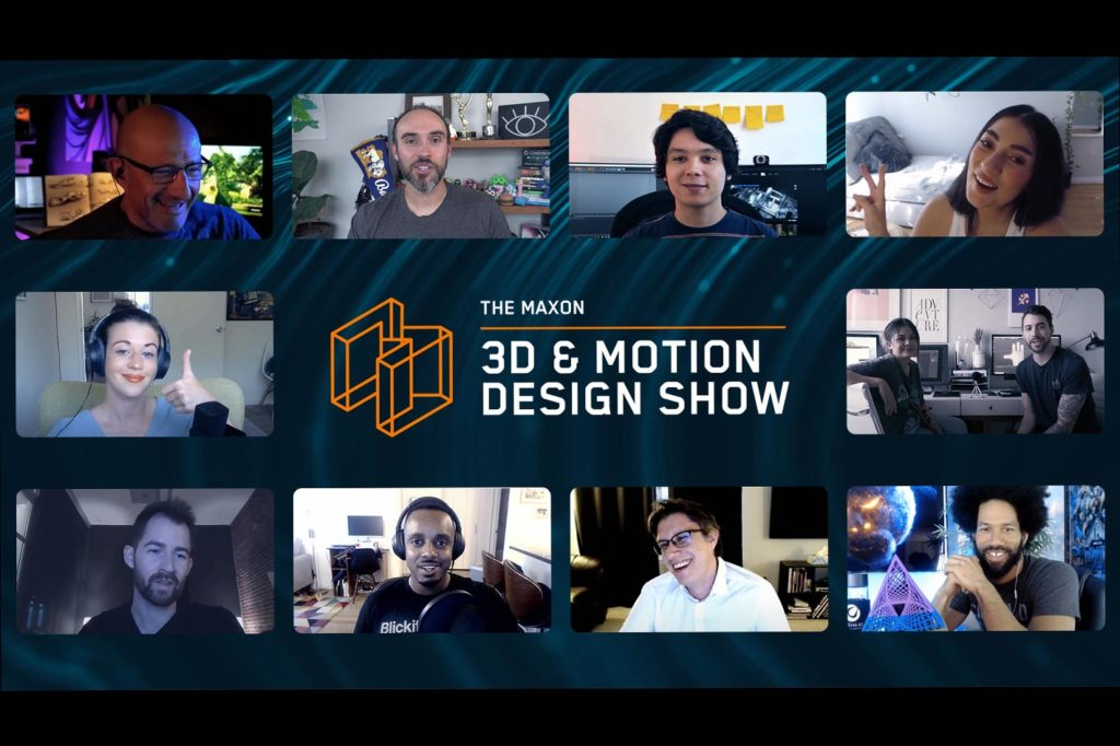 Maxon's 2021 lineup of 3D, VFX and Motion Graphics events
