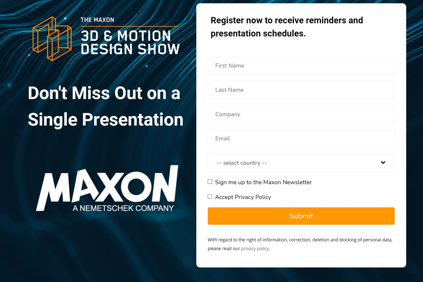 Maxon reveals lineup of 2021 events for 3D, VFX and Motion Graphics