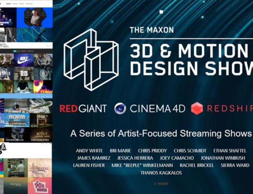 Maxon: here is the October 3D Motion & Design Show lineup