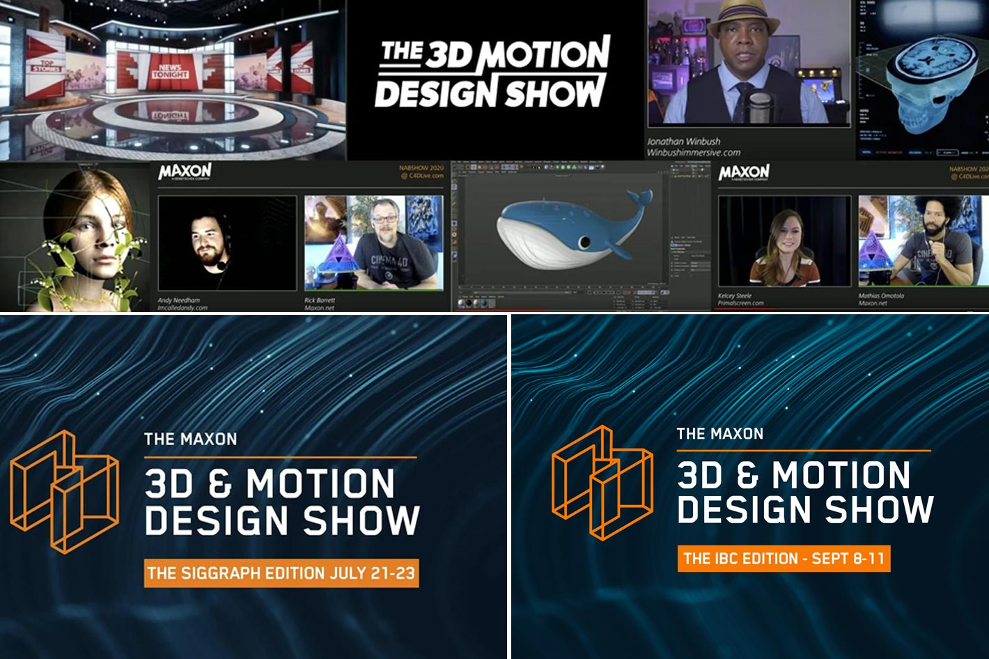 Maxon 3D and Motion Design Show for IBC 2020