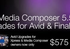 New Low Prices on Avid Media Composer 5.5 Upgrades for Avid & Apple FCP owners