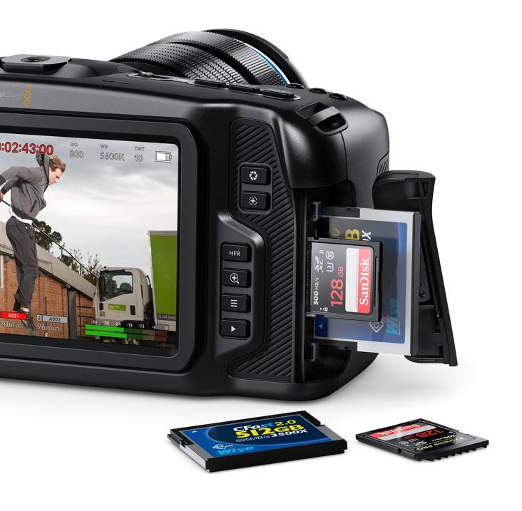 Blackmagic Pocket Cinema Camera earns 4K, balanced XLR audio and more 9