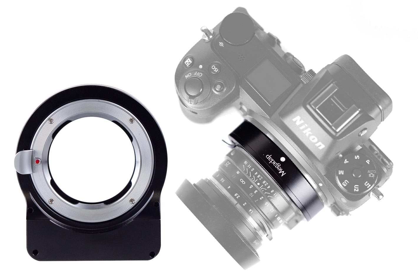 Megadap adapter turns manual focus lenses into autofocus