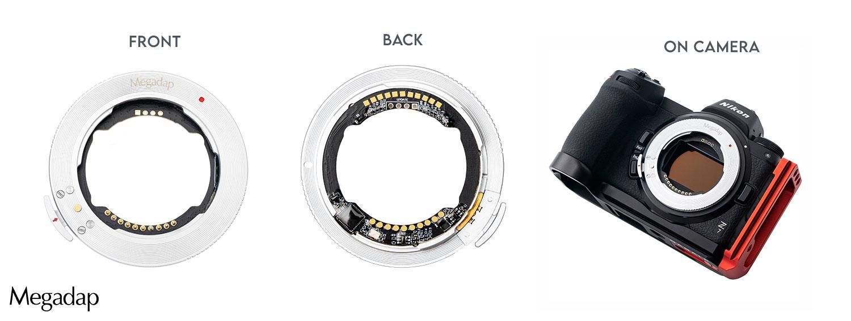 Megadap ETZ11 adapter: use Sony E lenses with Nikon Z cameras
