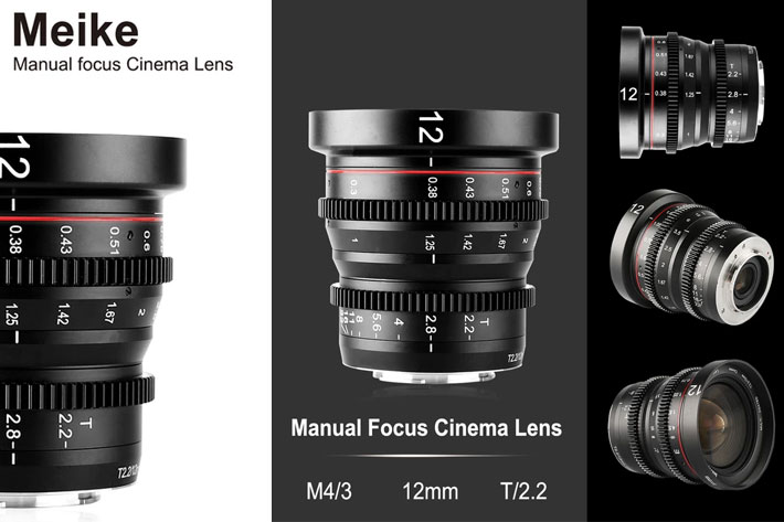 Meike MK-12mm T2.2 Cine Lens now available, five more lenses coming 1