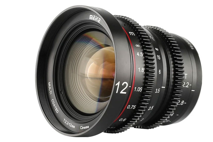 Meike MK-12mm T2.2 Cine Lens now available, five more coming