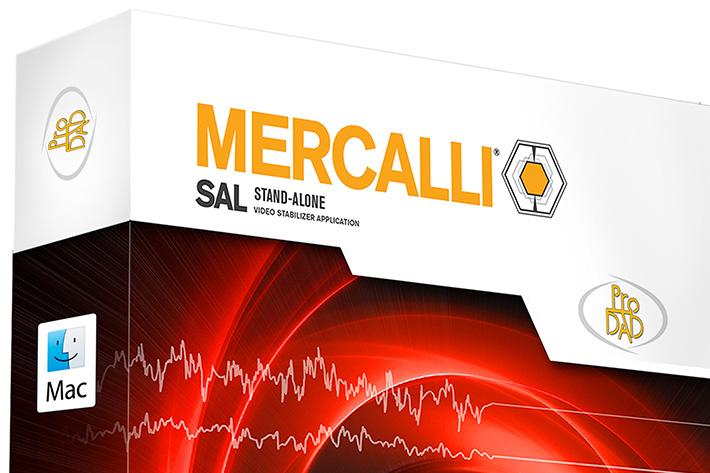 proDAD's Mercalli SAL now on Mac