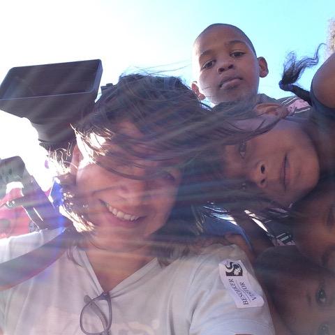 michelle kids selfie
