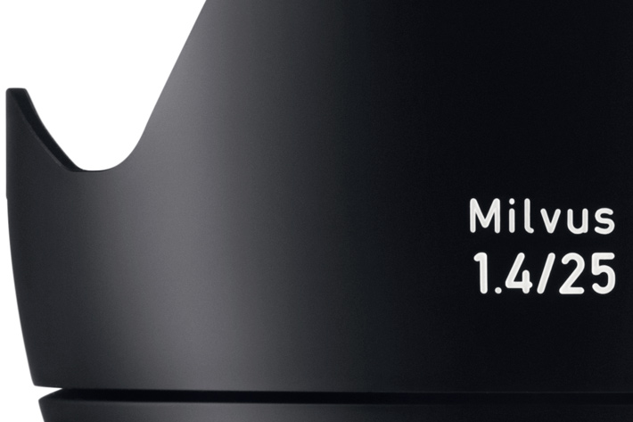 ZEISS Milvus 1.4/25 for DSLR filming