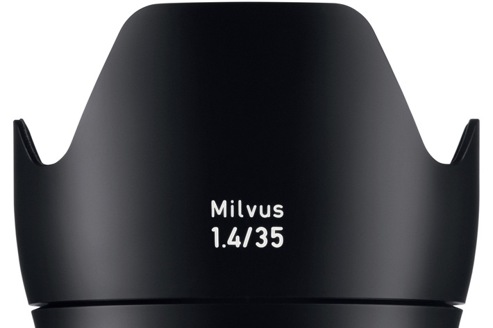 ZEISS Milvus 1.4/35, a lens for DSLR cameras
