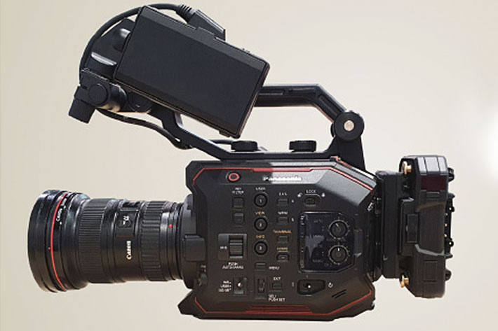 Mini PAGlink: smaller bateries for smaller 4K broadcast camcorders