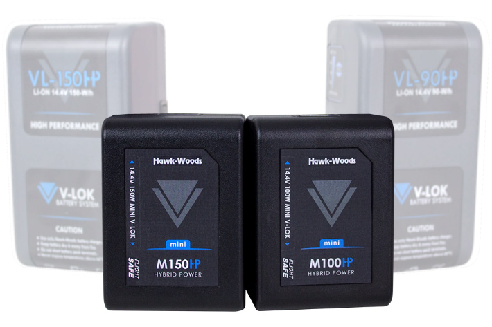 Mini V-Lok, a new flight-safe broadcast battery