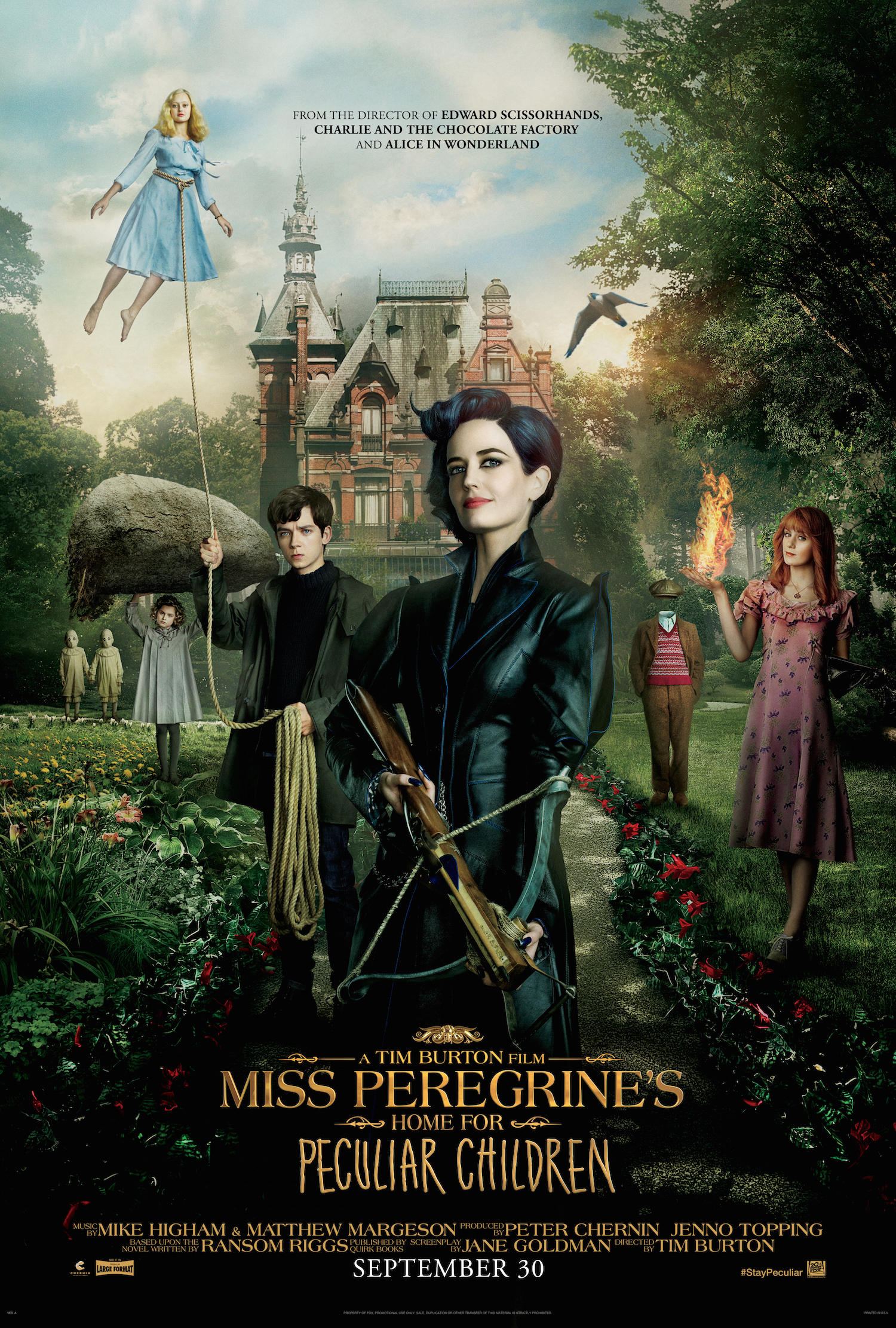 "ART OF THE CUT with Chris Lebenzon, ACE on editing ""Miss Peregrine's"" 18"
