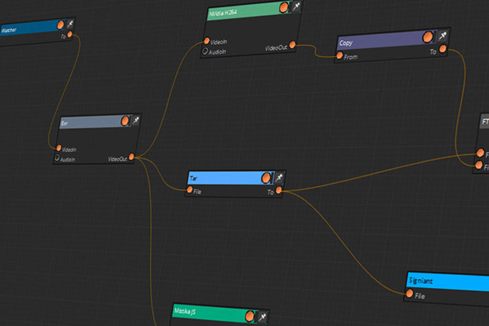 Mistika Workflows: Media Management, Transcoding and Delivery in a single app 8