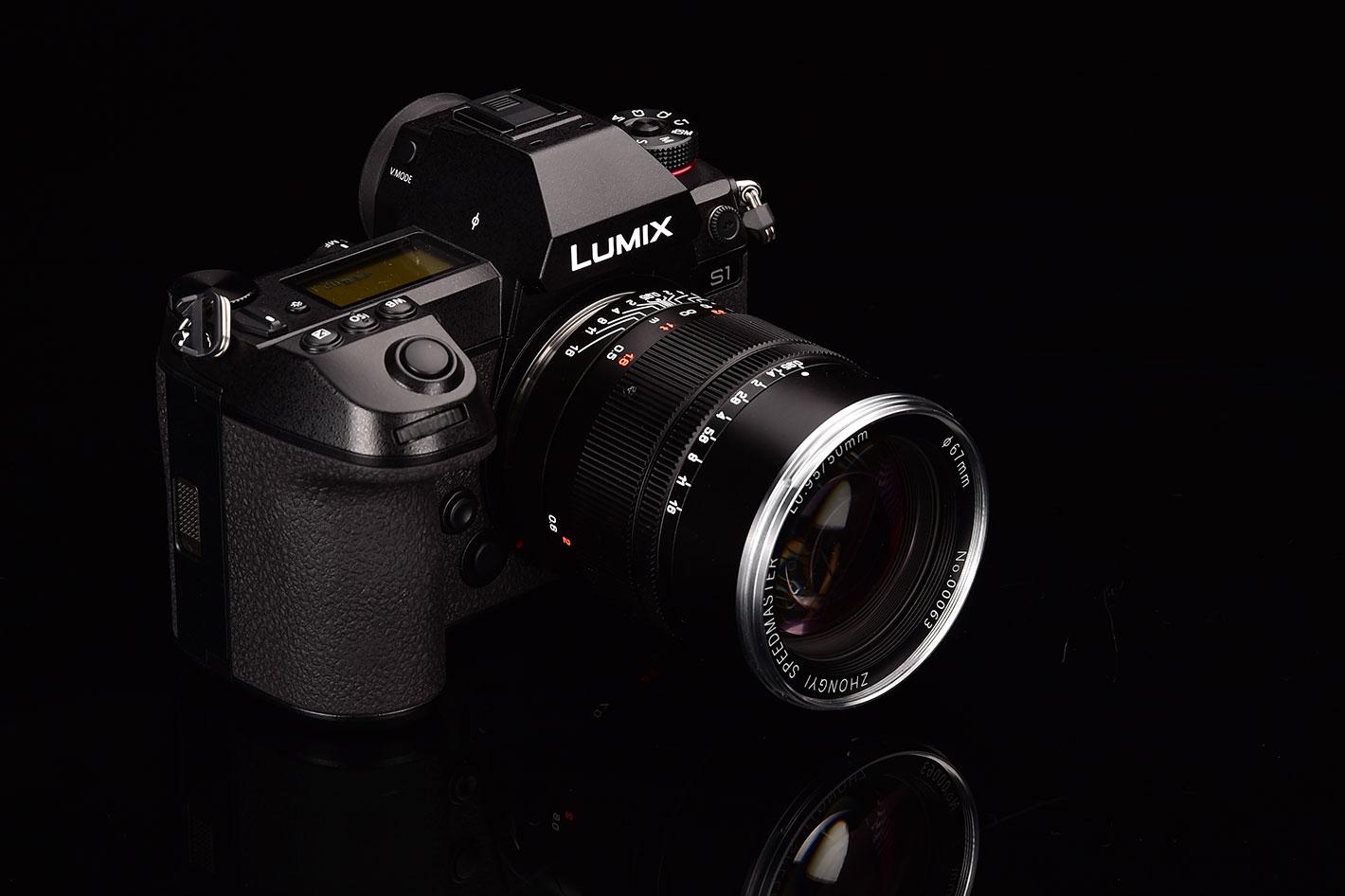 Mitakon Speedmaster 50mm f/0.95 lens for L-mount cameras