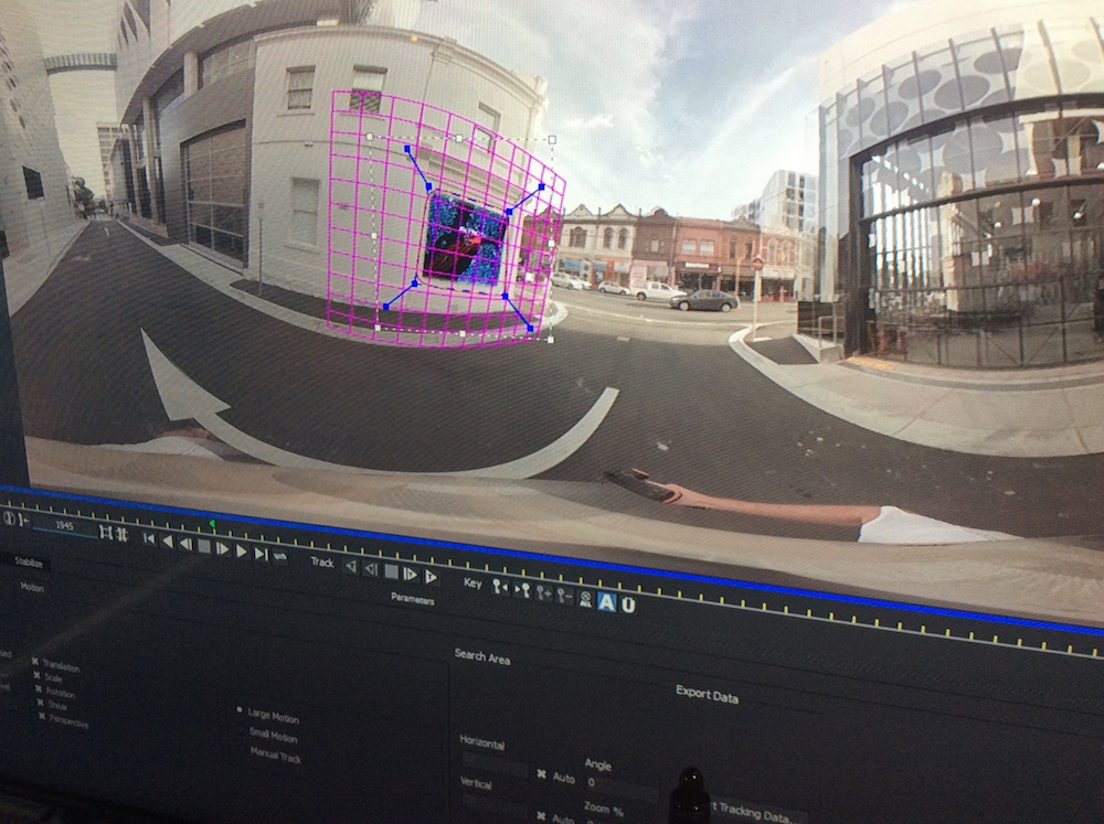 Using the remove tools in mocha Pro to remove camera rigs from a 360 scene will be one application of mocha in the VR space.