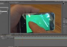 Motion Tracking and Green Screen with After Effects & Mocha AE
