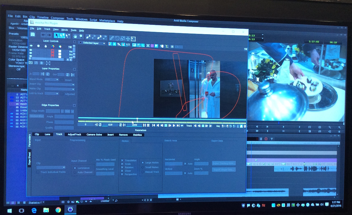 NAB 2016 - mocha Pro and visiting the Boris and Imagineer Systems Booth 8