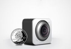 Moka360: world's smallest 360 camera funded on Indiegogo