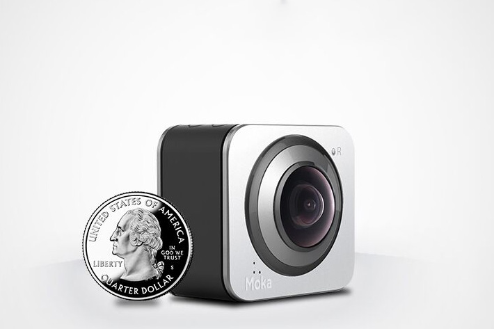 World's smallest 360 camera funded on Indiegogo