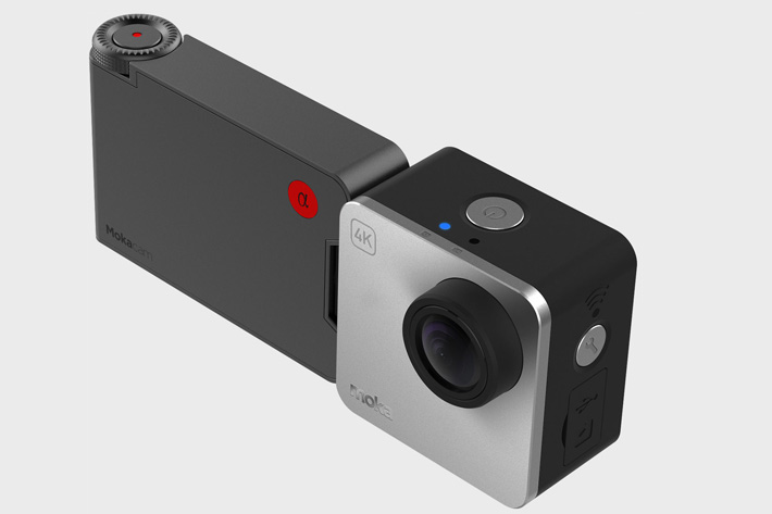 Alpha, the smallest 4K camera