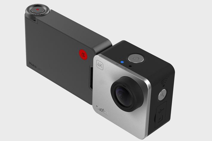 Alpha, the smallest 4K camera