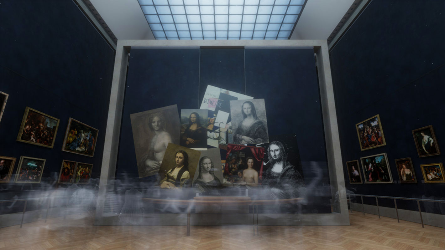 Mona Lisa: Beyond the Glass, a first for the Musée du Louvre