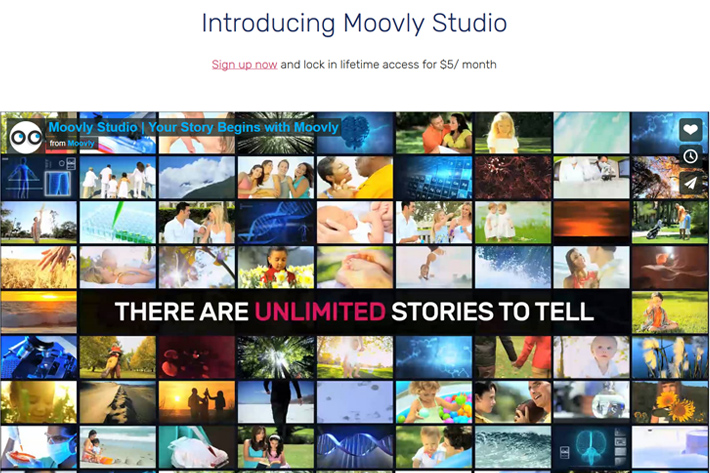Moovly Studio: online video editor reaches second generation