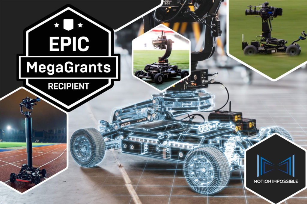 Motion Impossible's Virtual Production Suite gets an Epic Mega Grant