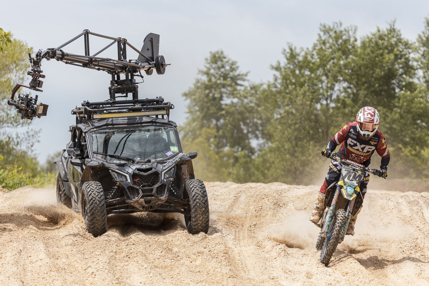 MotoCrane introduces HYPER and RADICAL remote arms