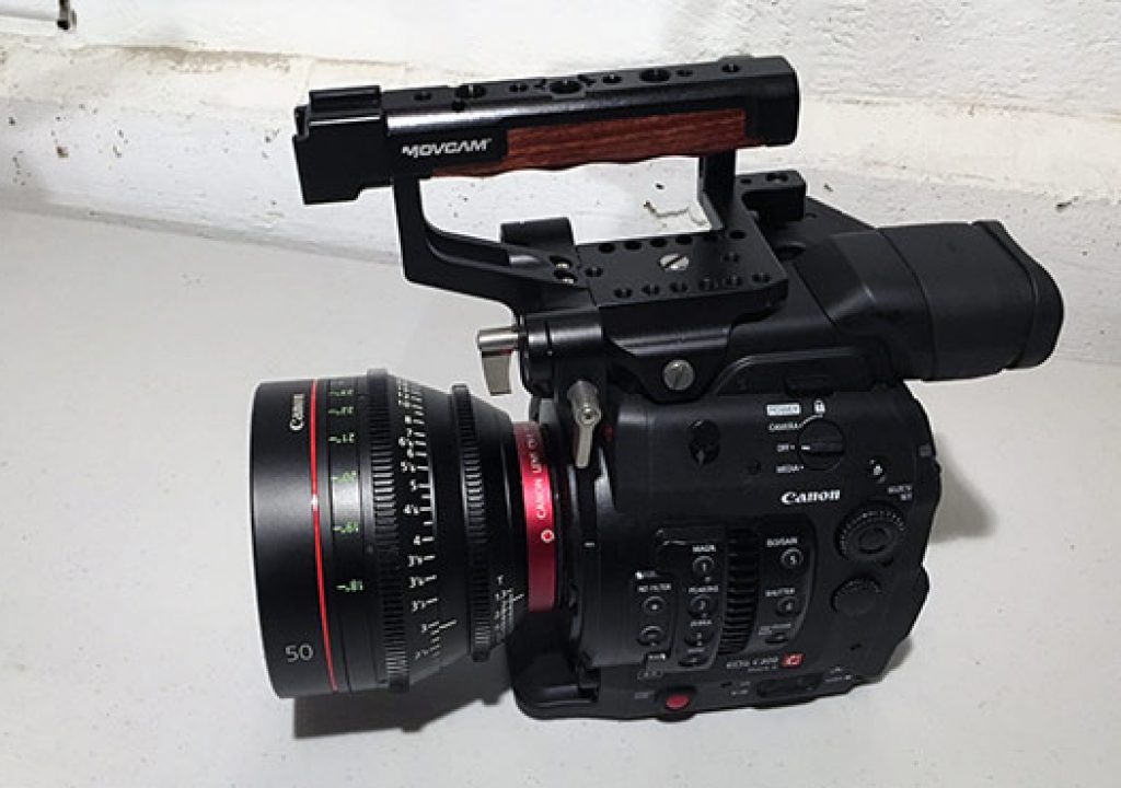 REVIEW: Movcam Top Handle, Base Plate and Shoulder Rig for the Canon C300 Mk II 1