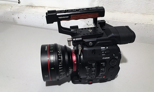 REVIEW: Movcam Top Handle, Base Plate and Shoulder Rig for the Canon C300 Mk II 43