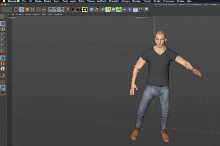 Moves by Maxon: a new and FREE full body motion capture app for Cinema 4D 3