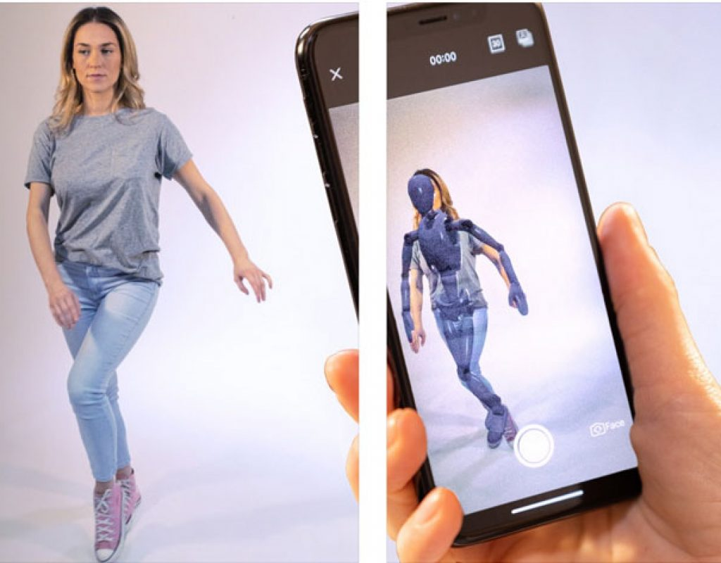 Moves by Maxon: full body motion capture FREE app