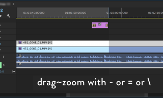 Premiere Quicktip: Zoom while dragging