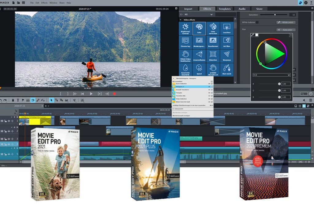 Movie Edit Pro 2021: video editing for users of all skill levels