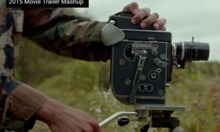All the movie trailers from 2015 in a six minute video