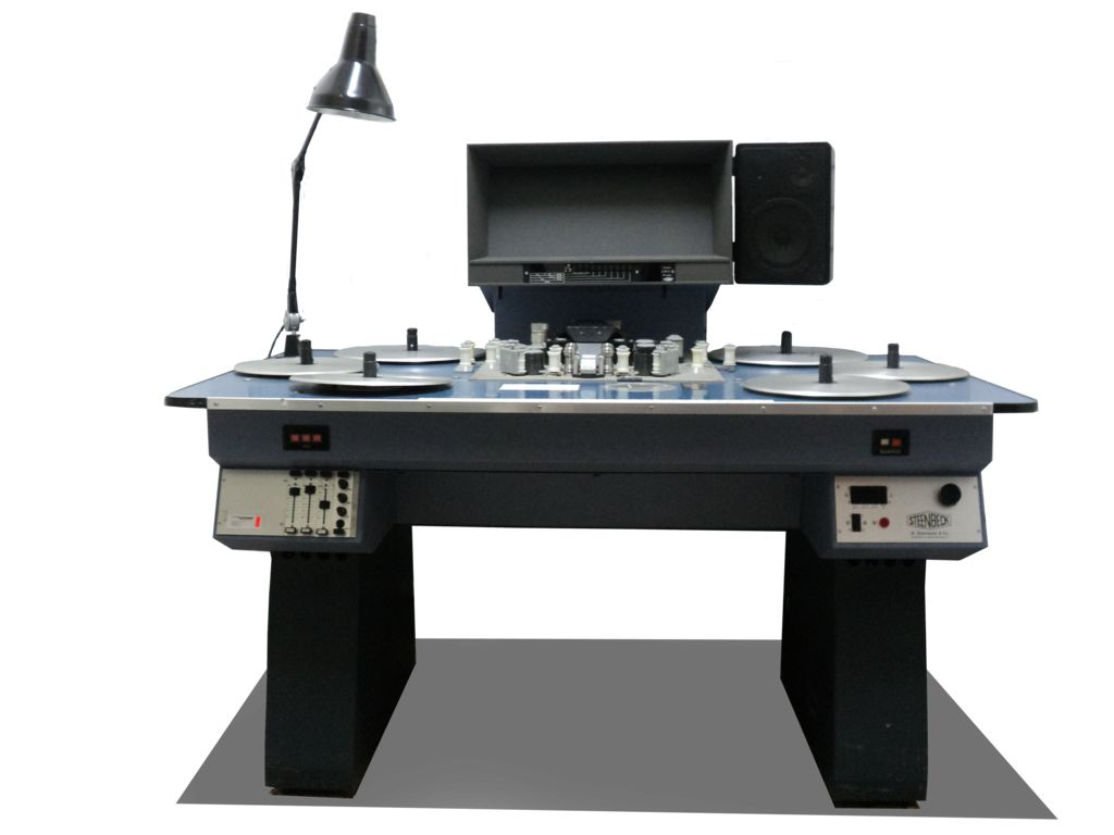 moviola steenbeck flatbed editing machine png by mannyisdead d7ayalx