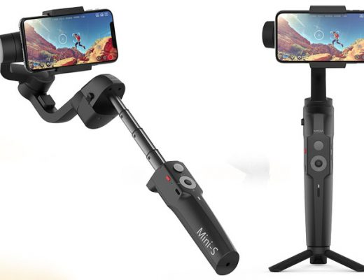 Gudsen MOZA Mini-S: a smartphone gimbal with selfie stick